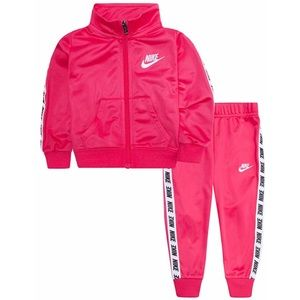 Nike Toddler Girls Pink Tricot Track Suit